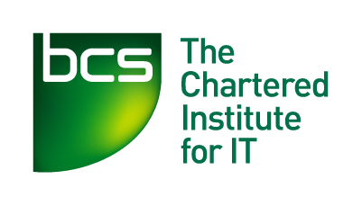 a green charted institute for IT logo
